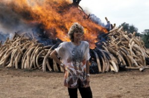 "Kuki saying ""No to Ivory"" in an epic way"