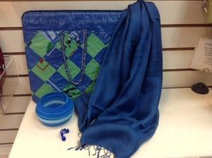elec blue accessories