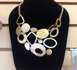 Modern Art necklace, Kenya, $59