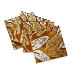 Shadow Leaves coasters, Peru, ALLPA, $39