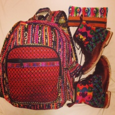 My much loved, fairly traded treasures from Guatemala via Ten Thousand Villages, Purse & Clutch and Teysha!